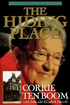 The Hiding Place by Corrie Ten Boom - An absolutely amazing story about a women and her family during WWII, who hid Jews and then endured a concentration camp in Nazi Germany. This Is A Book, I Love Books, Great Books, The Book, Books To Read, Love Reading, Reading Lists, Book Lists, Corrie Ten Boom
