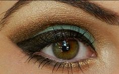 Green and Brown Delight - Click Pic for 18 Makeup Tips for Brown Eyed Girls
