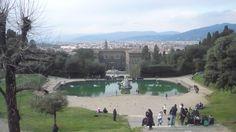 Jardins di Boboli et Palais Pitti de Florence