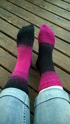 Ravelry: Project Gallery for There & Back Again Socks pattern by Dawn Hansen