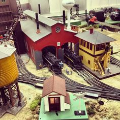 Lionel trains at the Charleston Area Model Railroad Club. Good place to visit while Christmas shopping at Citadel Mall.