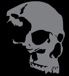 Side view Skull Window Decal Window Decals, Car Decals, Vinyl Decals, Skull Stencil, Skull Art, Skull Side View, Oracle Vinyl, Garage Art, Pirate Skull