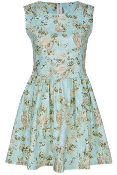 ROMWE | Zippered Green Floral Dress, The Latest Street Fashion @ROMWE #romwe