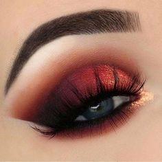Quand le rouge s invite à nos yeux ! #redeyes