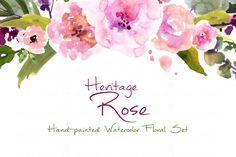 Heritage Rose- Water