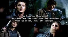 Fresh from the...: ...Set: Supernatural Top 10 Brotherly Angst Moments
