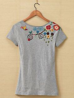 Women's 10,000 Stitches Tee from Johnny Was®   Sahalie
