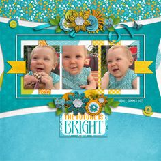 The Future is Bright and January Jazz $4 Template Grab Bag by Seatrout Scraps