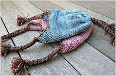 Ravelry: hadams' His and Her Garter Ridge Baby Earflap Hat