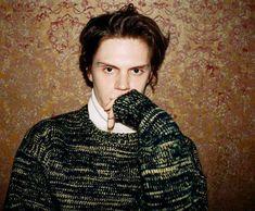 "evanpetersupdates: "" New HD photo from Evan's photo-shoot for Nylon Magazine. """