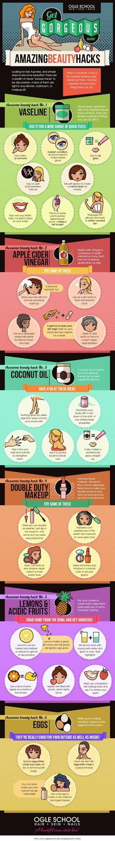 Check out >>> Get Gorgeous: 6 Beauty Hacks To Make You Look Like A Million Dollars