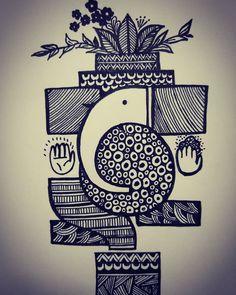 doodle art creative ~ doodle art ` doodle art journals ` doodle art for beginners ` doodle art easy ` doodle art drawing ` doodle art patterns ` doodle art creative ` doodle art cute Cute Doodle Art, Doodle Art Designs, Doodle Art Drawing, Cool Doodles, Drawing Drawing, Mandala Doodle, Mandala Art Lesson, Mandala Artwork, Easy Mandala Drawing