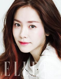 Actress Han Ji Min charms with a photoshoot for 'ELLE'