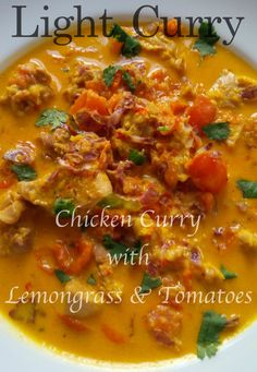 A chicken curry rich in aromatic spices and healthy vegetables.