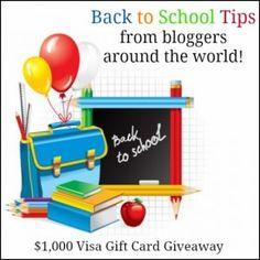 Back to School Blast - Hear my #BTS tips and enter to #win $1000!!! http://everydayerica.com/back-to-school-tips-1000-giveaway/