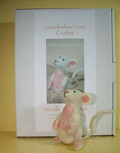The Greedy Mouse Traditional Needle Felt Kit by LincolnshireFenn