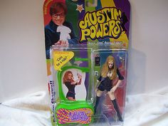 New in package Austin Powers Felicity Shagwell.
