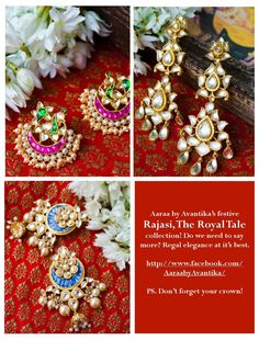 """Think outside the gift basket """"box!"""" A simple, creative, and inexpensive gift idea sure to please many different people on your list! India Jewelry, Hair Jewelry, Traditional Earrings, Bollywood Jewelry, Indian Heritage, Wedding Sutra, Imitation Jewelry, Inexpensive Gift, Jewel Box"""