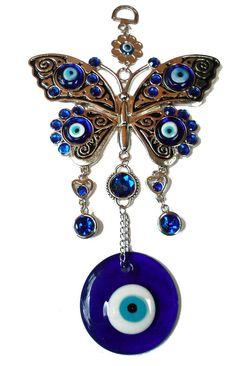 Greek eye... Greek Evil Eye Tattoo, Hamsa Art, Greek Blue, Turkish Eye, Crochet, Belly Button Rings, Drop Earrings, Beads, Dream Catchers
