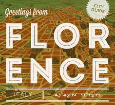 Our travel & shopping guide to Florence, Italy