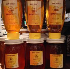 Local honey can help treat allergies and illness as well as sweeten up your tea! Brad's Bees out of Marysville makes some wonderful raw honey