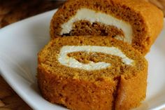 Pumpkin Cake Rolls - Foodista.com