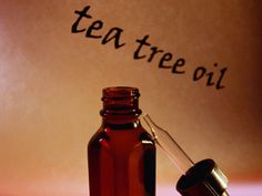 How to Get Clear Skin with Tea Tree Oil -- It's potent stuff that contains benzoyl peroxide and should be diluted before applying to skin. Mix 1/2 teaspoon tea tree oil with 2 tablespoons of water or aloe vera juice or gel. Moisten a cotton ball with the solution and use to spot-treat problem areas. Use daily or 2 times a day.
