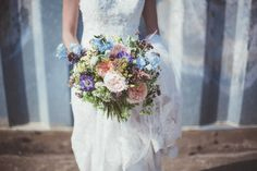 Summer Bouquet | Flowers from the cutting garden | Just picked look | Real Weddings