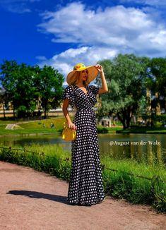 Летнее платье в горох – купить на Ярмарке Мастеров – LFGZ6RU | Платья, Санкт-Петербург Dresses, Fashion, Gowns, Moda, La Mode, Dress, Fasion, Day Dresses, Fashion Models