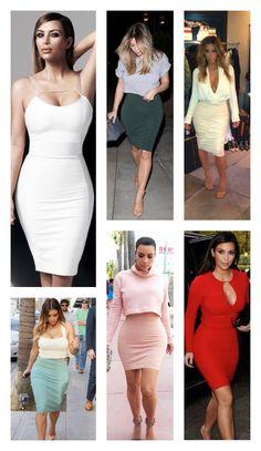 Kim Kardashian - Bodycon Fashion Friday