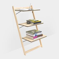 iLean shelf by Michael Suman and Lynn Smith at MoMA Store.