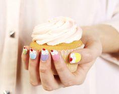 #cupcake #cute #nails