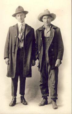 bastardkeaton:      Cowhands, 1910's.