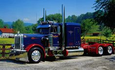 1982 Peterbilt 359 with Extended Hood | Flickr - Fotosharing!