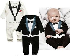 baby boy onesie tuxedo //For NYE! Baby Boy Fashion, Kids Fashion, Cute Babies, Baby Kids, Kids Boys, Baby Wearing, Baby Fever, Future Baby, Baby Boy Outfits