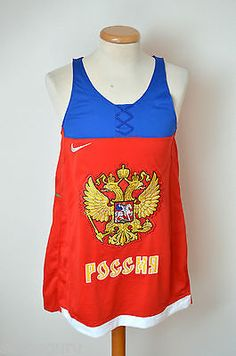 Nike team russia ice hockey vest jersey #player no. 75 #nikos 2014 #sochi olympic,  View more on the LINK: 	http://www.zeppy.io/product/gb/2/112047578636/