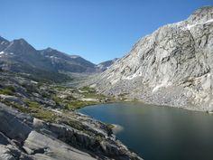 john muir trail one day.... Lower Palisade Lake and Mather Pass