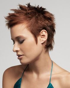 Short Spiky Haircuts For Women Short Funky Hairstyle When You Want To Make