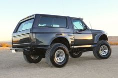 013 Ford Bronco King General Rear Three Quarter Low Up Angle Photo 101757847
