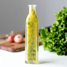 Brimming with chives, basil, and mint, this easy salad dressing is perfect for spring.