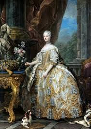 'Marie Leszczinska, Queen of France 1747 by Charles-André van Loo. Marie Leszczyńska was a Polish princess who married Louis XV of France. She became the longest serving Queen consort of France. French History, Art History, Oil On Canvas, Canvas Art, French Royalty, Rococo Fashion, Women's Fashion, 18th Century Fashion, A4 Poster