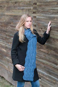 Ravelry: Zephyr Scarf pattern by Deborah Newton