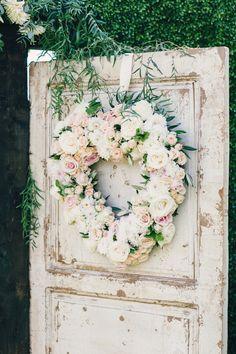 rose wreath - photo mi belle