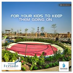 For your kids to keep them going on. #RajhansFeriado #ExclusiveSpanishWeekendVillas #Surat
