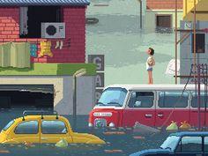 Scene #22: 'The Flood' by Octavi Navarro #zeeenapp