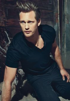 ALEXANDER SKARSGÅRD - True Blood  Because it has come to my attention that somehow there wasn't a single blond on my Celeb Boyfriends board!