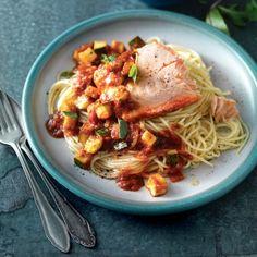 Deze pasta zet in je in 15 minuten op tafel. #zalm #recept #JumboSupermarkten