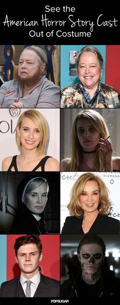 American Horror Story Cast Out of Costume