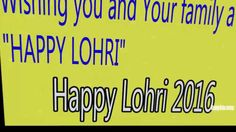 Happy Lohri 2016 Greetings | Happy Lohri Wishes,Happy Lohri Wishes, Quot...
