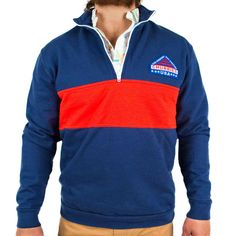 Chubbies Shorts | The Chubbies Half-Zip Sweatshirt | Men's Sweatshirts